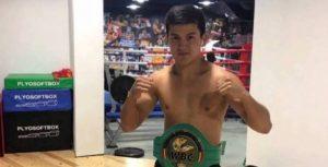 18 жастағы боксшы Нұрдос Төлебай Дубайда жекпе-жекке шығады